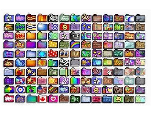 130 Fun Desktop Folder Icons