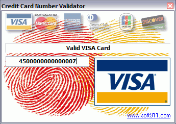 Advanced Credit Card Validator