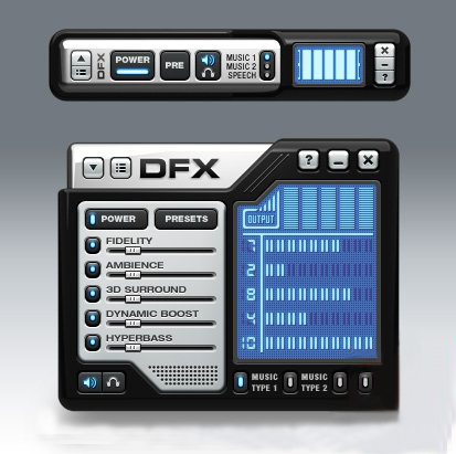 DFX Audio Enhancer for Windows Media Player 9.3