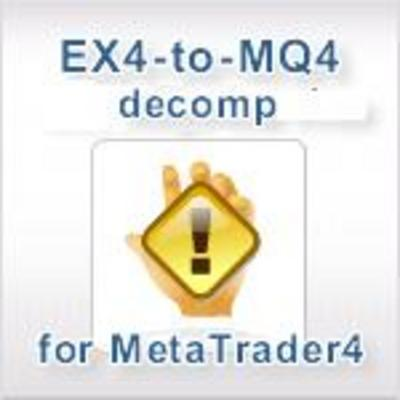 Decompiler EX4 TO MQ4.2011