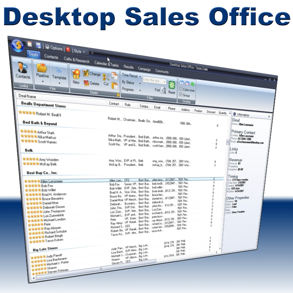 Desktop Sales Office