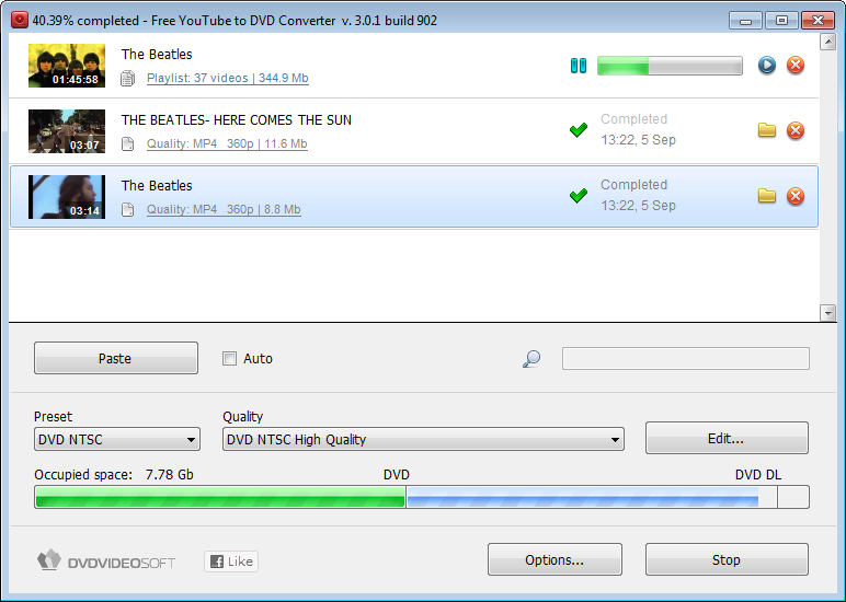 Free YouTube to DVD Converter 2011