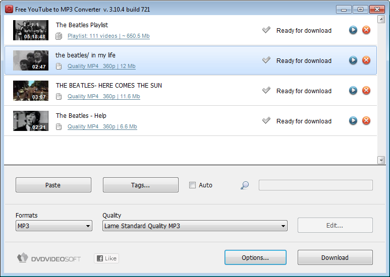 Free YouTube To MP3 Converter 2013