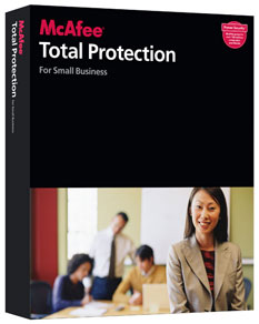 McAfee Total Protection for Small Business 2011