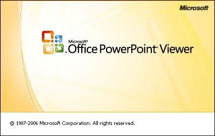 PowerPoint Viewer 2011