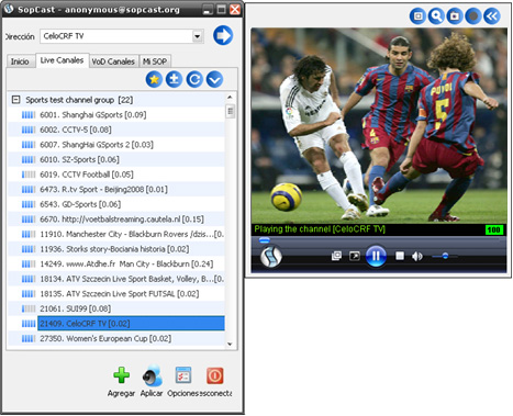 Sopcast 3.3.2